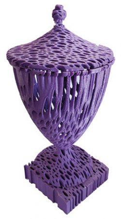 Vaso borromeu fabricado em impressora 3d