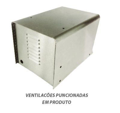Ventilacões puncionadas em produto